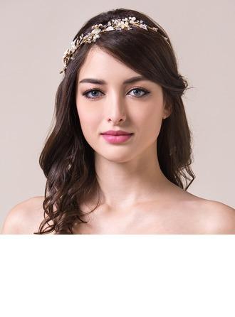 Belle Strass/Cristal avec Pearl Dames Bijoux de cheveux