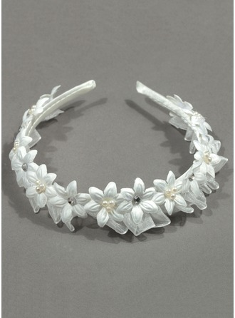 Rhinestones With Flower Headbands