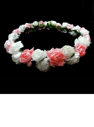 Belle Papier Chapel de fille de fleur