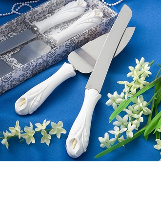 Verdâtre Lily conception Fleur Services de table