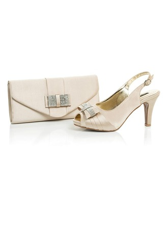 Classical Satin Shoes & Matching Bags