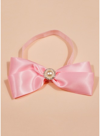 Polyester/Elastic With Headbands Dress
