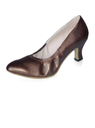 Femmes Vrai cuir Talons Escarpins Modern Style Salle de bal Chaussures de danse