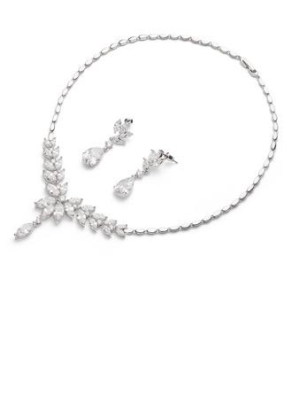 Unique Zircon Ladies' Jewelry Sets