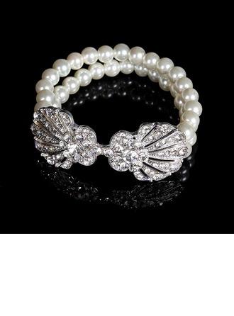 Brillant Strass avec Cristal Dames Bracelets