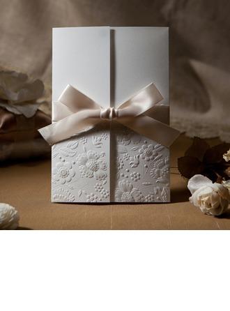 Florales Estilo Puerta-Doble Invitation Cards con Arcos (Juego de 50)