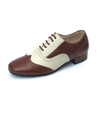 Hommes Vrai cuir Chaussures plates Modern Style Chaussures de danse