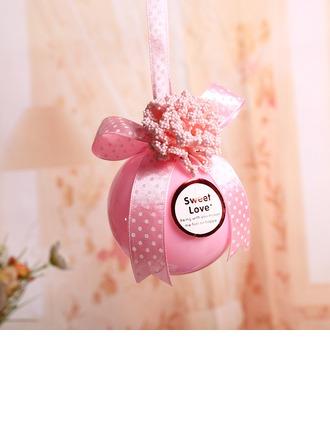 """""""L'Amour c'est doux"""" Boule Boîtes cadeaux avec Rubans"""