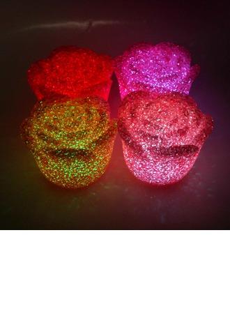 Changement de Couleur Design de fleur Éclairage LED