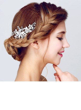 Spécial Alliage/Perles d'imitation Des peignes et barrettes