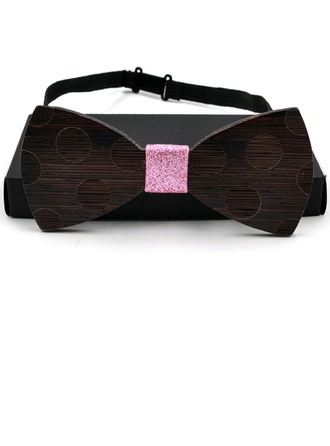 Style Classique Bois Bow Tie