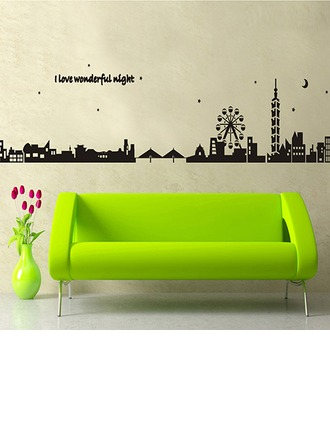 Wonderful Night PVC Wall Stickers