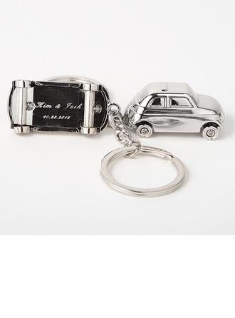personnalisé Design de voiture En alliage de zinc Portes-clés