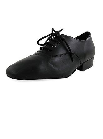 De los hombres Niños Piel Planos Moderno Zapatos de danza