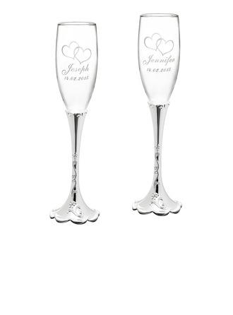 personnalisé Verre/Aluminium Flûtes à champagne