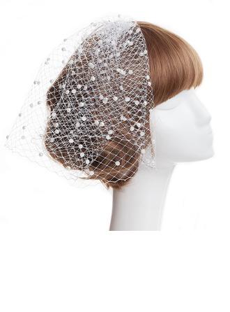 Gentil Perles d'imitation/Net Chapeaux de type fascinator