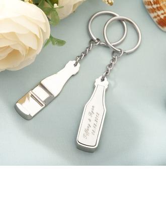 personnalisé En alliage de zinc Portes-clés/Ouvre-bouteille