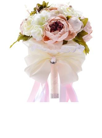 Doux Mousse/Soie artificielle Bouquets de mariée