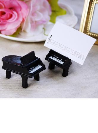 Design en piano Résine Porteurs de cartes