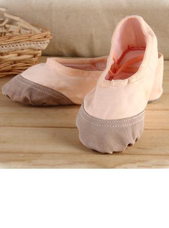 Femmes Toile Chaussures plates Ballet Pratique Chaussures de danse