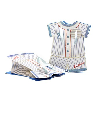 Diseño del Vestido del Bebé Cuboidea Bolsos de regalos con Cintas