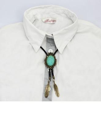 Style Classique Modern Style Kallaite Alliage Bolo Tie