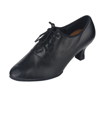Femmes Vrai cuir Talons Moderne avec Dentelle Chaussures de danse