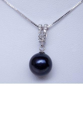 """Magnifique Pearl/925 et la chaîne/""""AA"""" perle Femmes Colliers"""