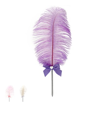 Belle Strass/Bow/Plumes Ensemble de crayon