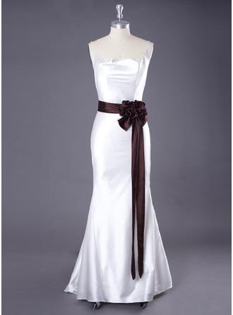Long Elastic Satin Wedding/ Bridal Ribbon Sash