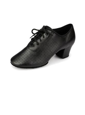 Femmes Vrai cuir Talons Escarpins Moderne Chaussures de danse