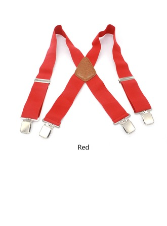 Classic Polyester Suspenders