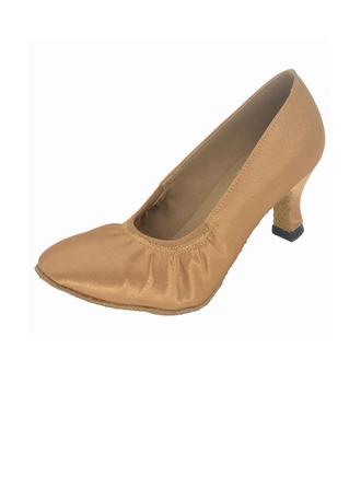 Femmes Satiné Talons Escarpins Modern Style Chaussures de danse
