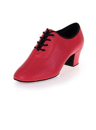 Femmes Vrai cuir Talons Escarpins Modern Style Chaussures de danse