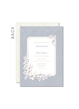 Style Vintage/Rustic Style Cartes d'invitations