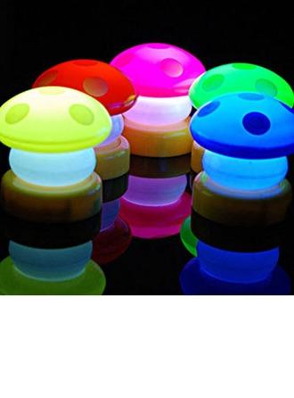 Conception de champignon Vinyl Éclairage LED