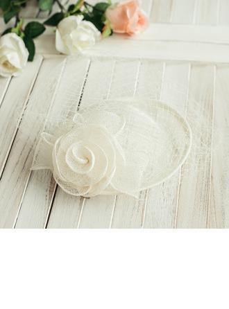 Dames Élégante avec Une fleur Chapeaux de type fascinator/Béret Chapeau