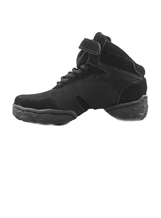 Women's Men's Unisex Canvas Sneakers Practice Dance Shoes