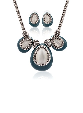 Nice Alloy With Cat's Eye Women's/Ladies' Jewelry Sets