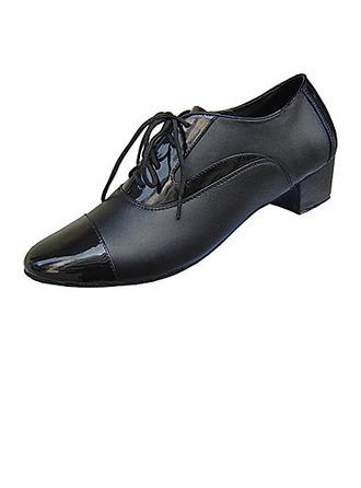 Hommes Vrai cuir Talons Moderne Salle de bal Chaussures de danse
