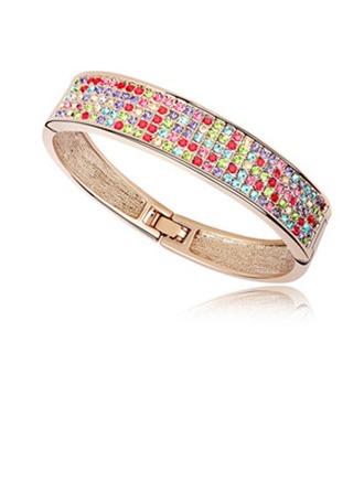 Brillant Alliage avec Strass Dames Bracelets et chaînes de cheville