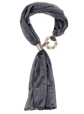 Einfarbig Hals Schals