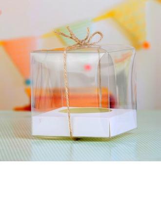 Cubique Gâteau Boîtes