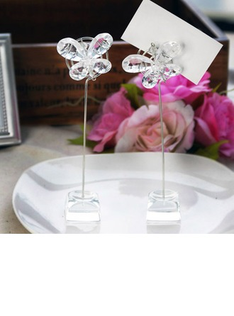 Papillon Cristal Porteurs de cartes