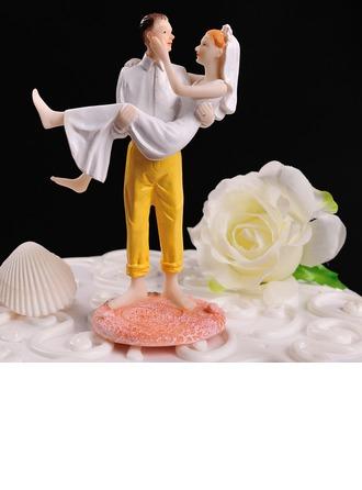 Figurine Couple classique Résine Mariage Décoration pour gâteaux