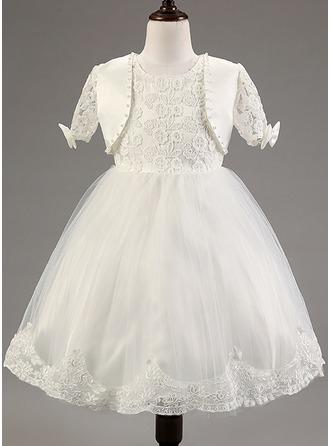 Robe Princesse Mélange de coton Robes reconstitution historique/Robes Baby avec Dentelle