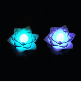 Changement de Couleur lotus Vinyl Éclairage LED