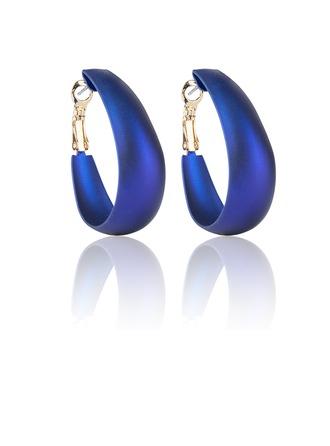 Beautiful Alloy Coloured Glaze Ladies' Fashion Earrings