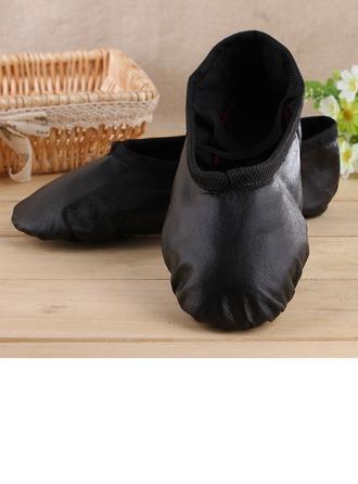 Femmes Vrai cuir Chaussures plates Ballet Pratique Chaussures de danse
