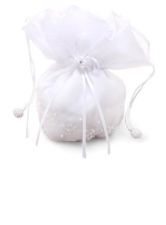 Charming Chiffon With Imitation Pearl Bridal Purse